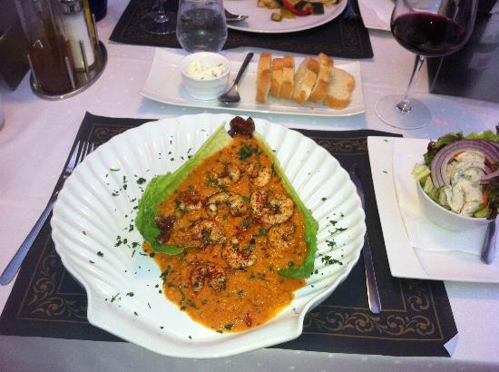 Stad Antwerpen: Gambas Diablo - spicy prawns