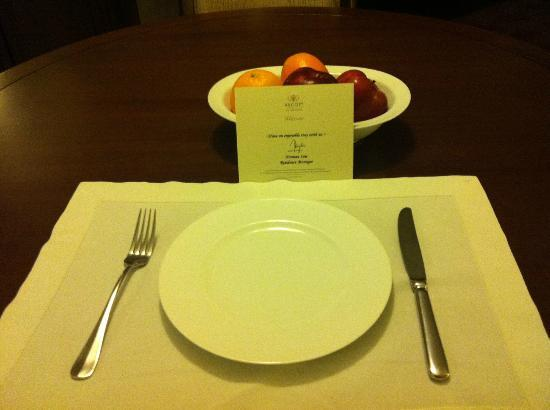 Ascott Makati: dining