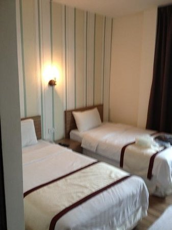 Kota Tinggi, Malesia: Twin bed room