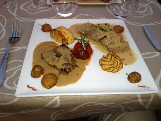 Auberge Relais du Cheval Blanc: Duo De Saveur Carnis ou Le Chef Vous Propose