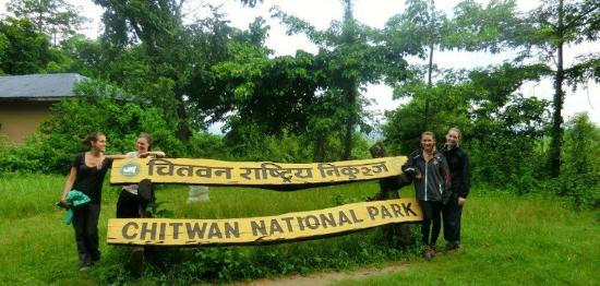 The Hub, Lazimpat: Trip organized for our guests in Chitwan National Part