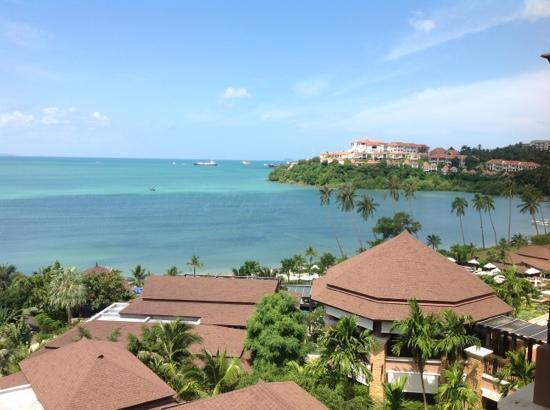 Pullman Phuket Panwa Beach Resort: View from Seaview Room 4th Floor