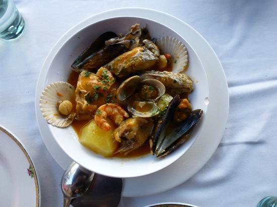 Sport: Cazuela de Marisco y pescados de roca. 24€