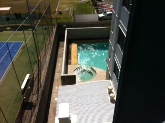 The Landmark Nelson Bay: View from room 402
