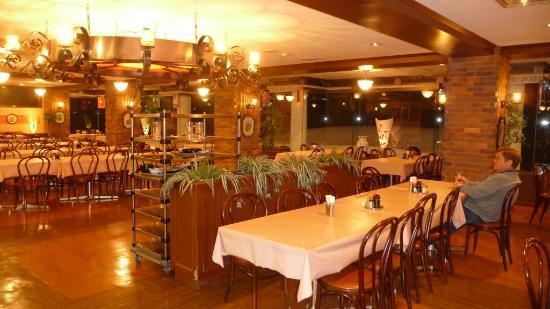 Hotel Sunroute Shiga-kogen: Sunroute Hotel Dining Room.