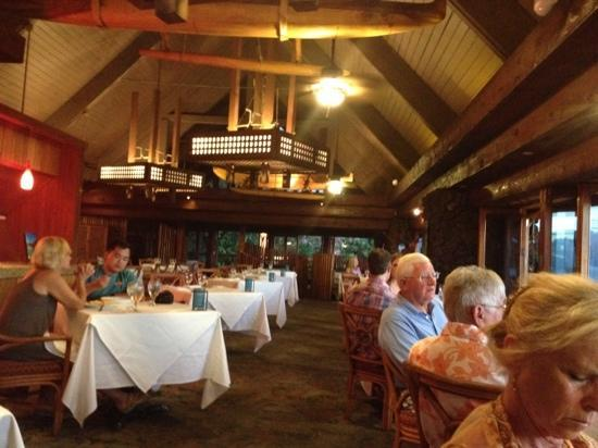 Five Palms Lahaina : one of the upstairs dining rooms