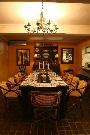 La Chesa : Intimate chef's table - perfect for celebrating a special occasion!