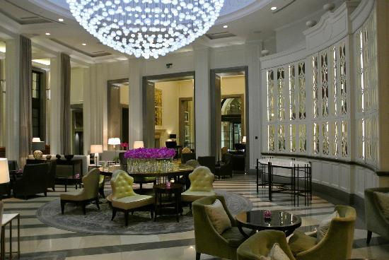 lobby picture of corinthia hotel london london. Black Bedroom Furniture Sets. Home Design Ideas