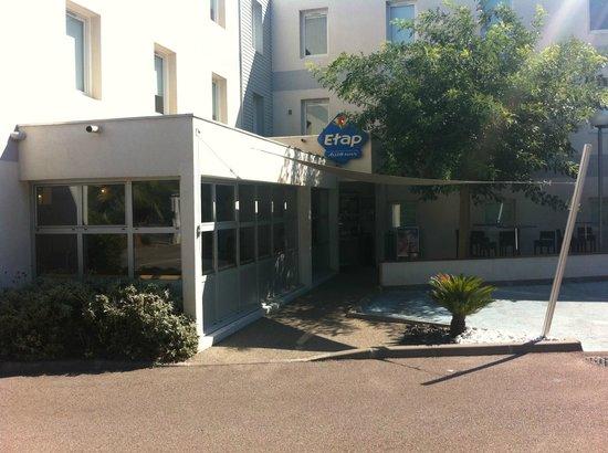 Ibis Budget Montpellier Centre Millenaire: vue de l'entrée