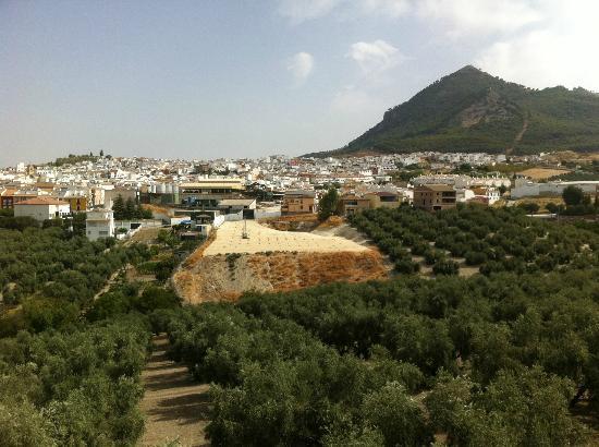 Hotel El Mirador de Rute: Vistas