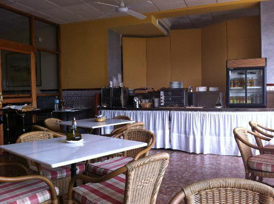 Hotel El Mirador de Rute: Comedor