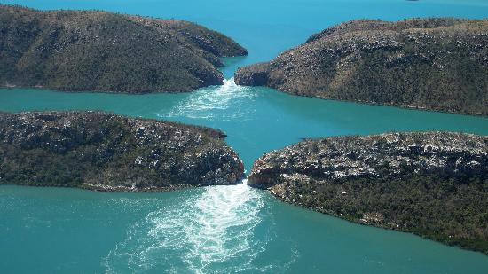 Horizontal Falls, Kimberley image courtesty of TripAdvisor