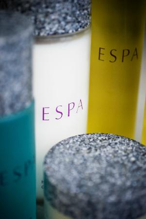 The Richardson Hotel & Spa: ESPA products and treatments