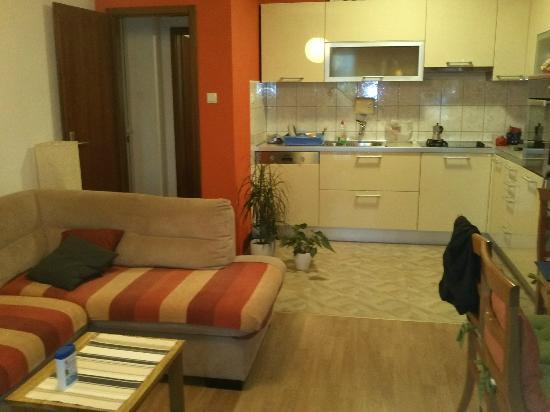 Apartments Avdic: Sala e cucina