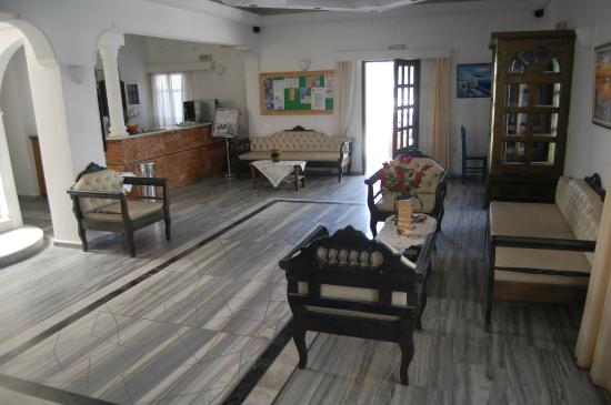 Drossos Hotel: Réception