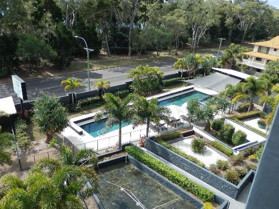 The Bay Apartments: Pool Area - view from balcony