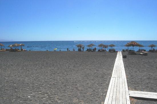 Drossos Hotel: La plage
