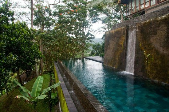COMO Shambhala Estate: One of the hotel pools