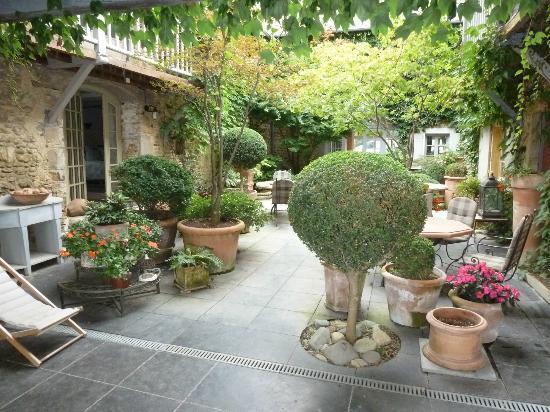 Maison estratte : le patio