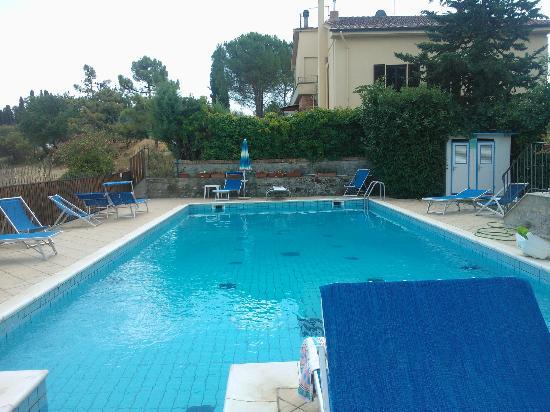 Villa Veronica: la piscina..