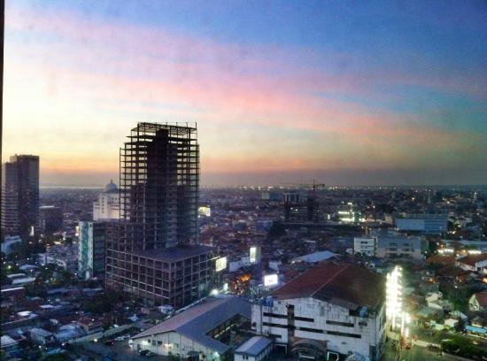 Sheraton Surabaya Hotel & Towers: View from the lounge