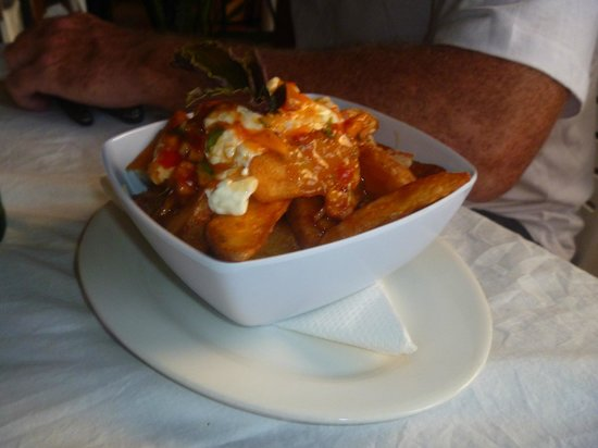 Cafe Ariki: Another massive entree serving yummy tasty wedges