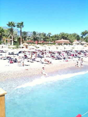Marti Myra Hotel: beach