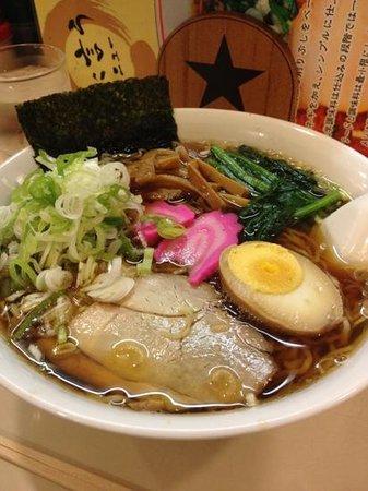 昔風ラーメン(醤油)