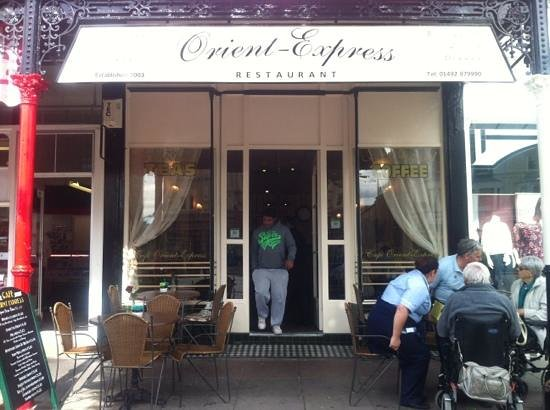 Orient Express Cafe & Restaurant: front