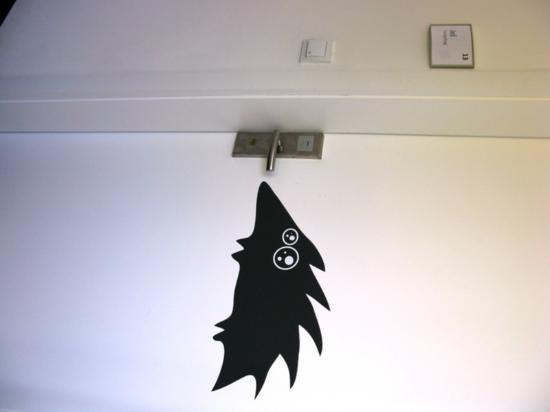 MC Hostel Brezice: Door