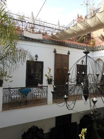 Riad Dar Sheba: The Marrakerch Suite from outside