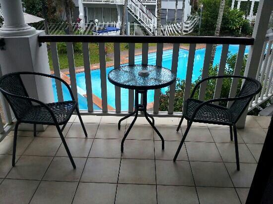 Best Western Mango House Resort: view from pool side room