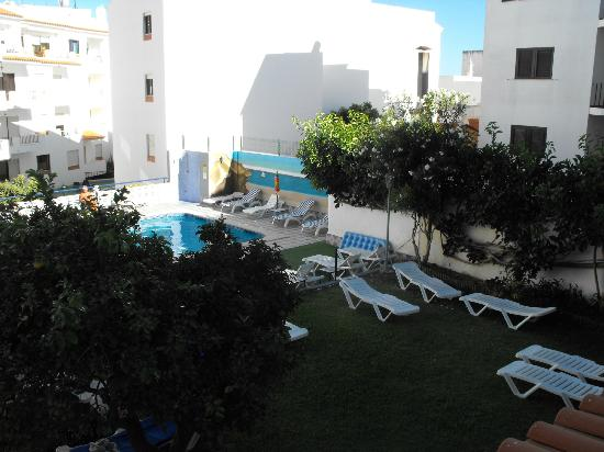Casa Mitchell Apartments: View from the balcony of room 65