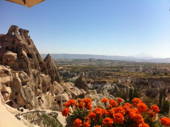 Argos in Cappadocia: view of the restaurant