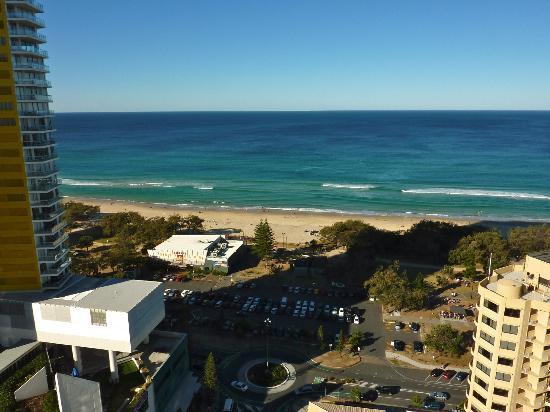 Peppers Broadbeach: View from our ocean view 2 bedroom suite