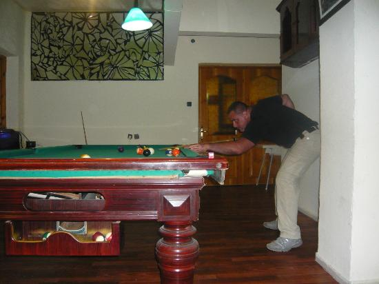 Ladies Beach Hotel: Billiard room
