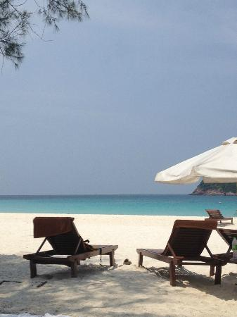 Coral Redang Island Resort: Spiaggia