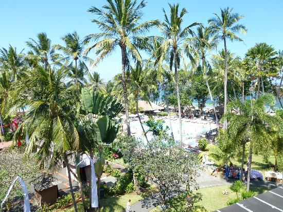 Prama Sanur Beach Bali: View from balcony