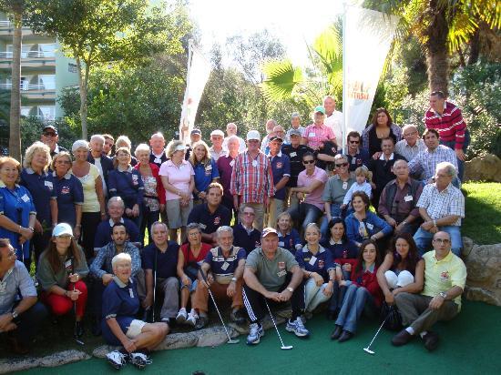 Golf Fantasia : Adult tournament competitors
