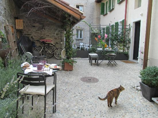 Guesthouse Castagnola: Courtyard