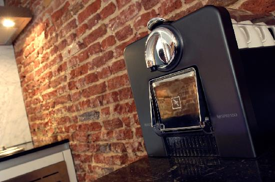 Amsterdam Boutique Apartments: free nespresso when booked on our own website
