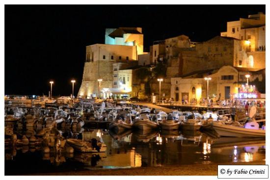 Spiaggia di Castellamare del Golfo : Castellammare del Golfo, panorama notturno