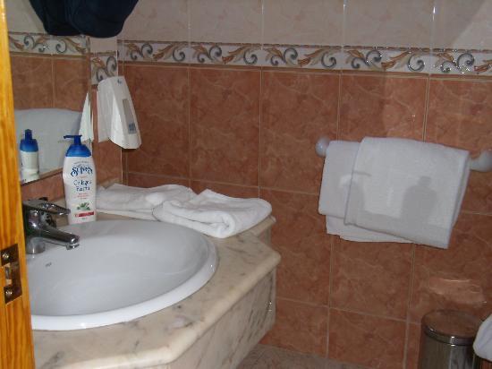 Hotel Noguera : Badeværelse