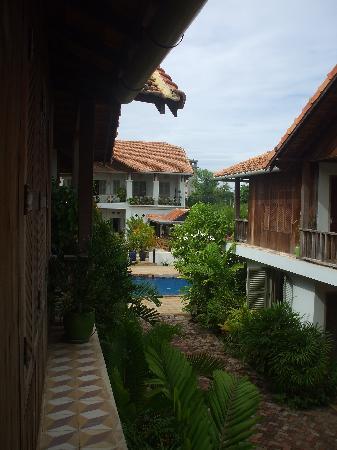 Bambu Battambang Hotel: View form the room