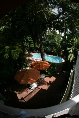 The Gardens Hotel: View from Master Suite