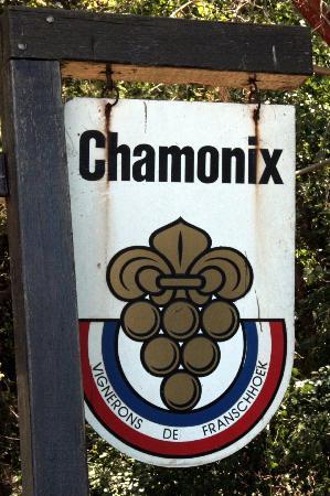 Chamonix Sign