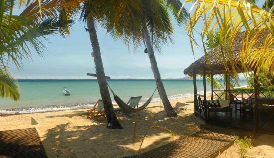 Doany Beach: La rotonde pieds dans l'eau
