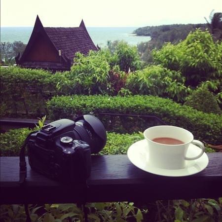 Ayara Hilltops Resort and Spa:                   Beautiful morning. Sea view