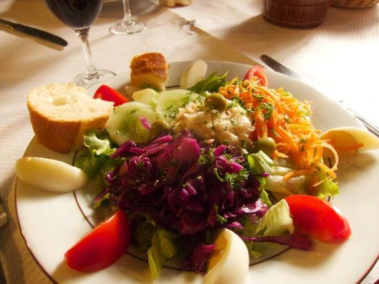 Hostal dels Trabucayres : Salad