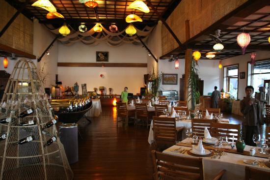 Myanmar Treasure Inle Lake: Restaurant